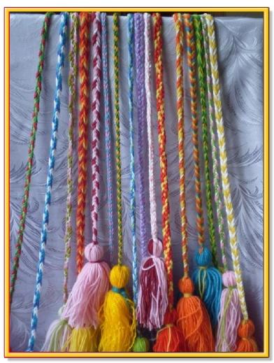 Дерганье плетенье