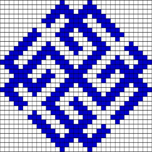 Вышивка квадрат сварога 33